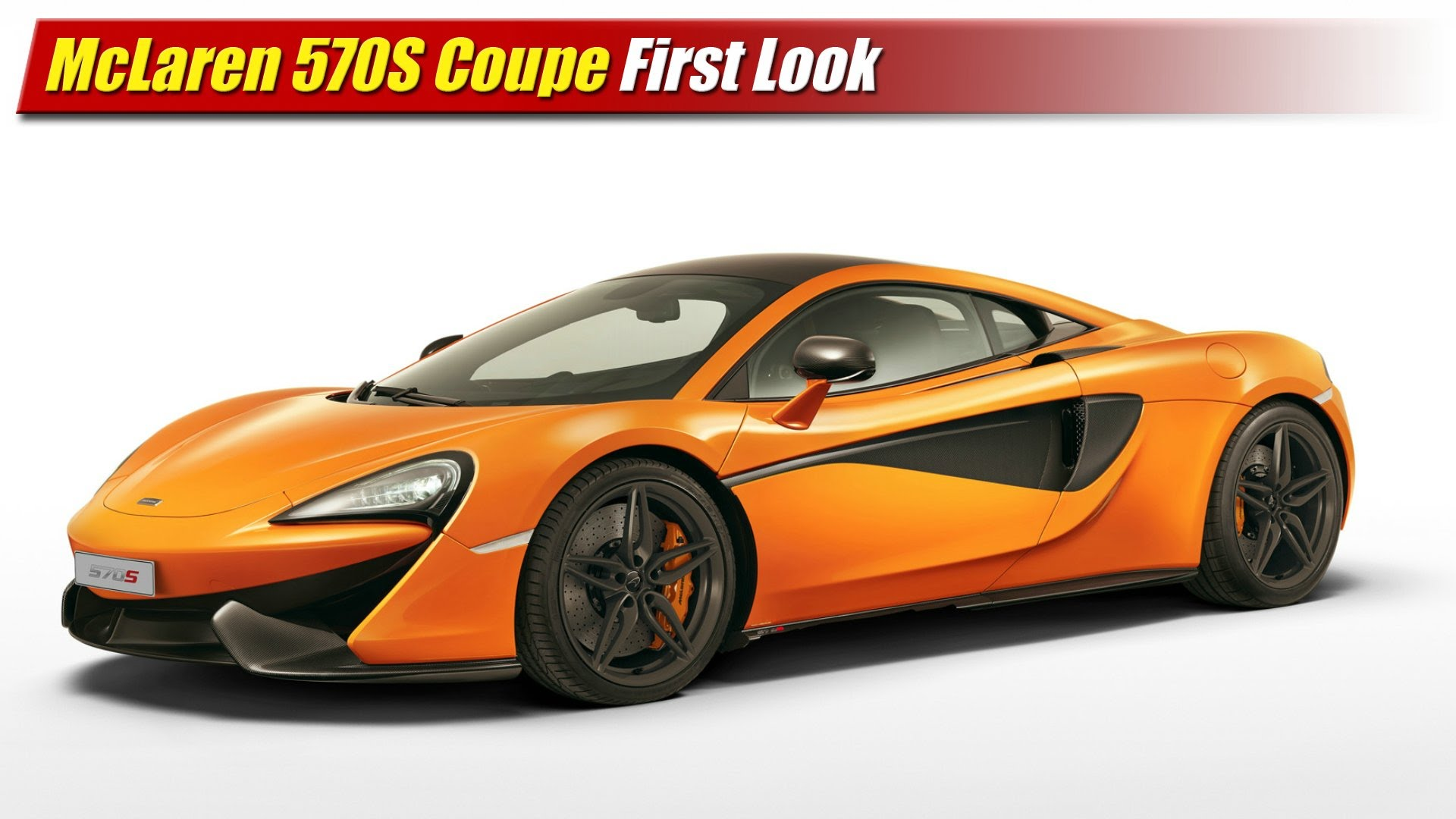 Innovative First Look McLaren 570S Coupe  TestDrivenTV