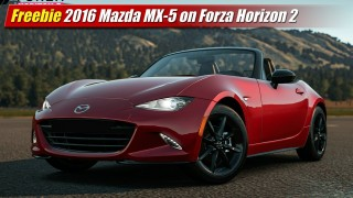 Freebie: 2016 Mazda MX-5 on Forza Horizon 2