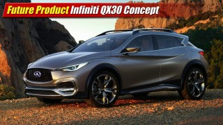 Future Product: Infiniti QX30 Concept