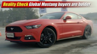 Reality Check: Global 2015 Ford Mustang buyers are bolder