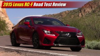 Road Test Review: 2015 Lexus RC-F