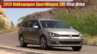 First Drive: 2015 Volkswagen Golf SportWagen TDI