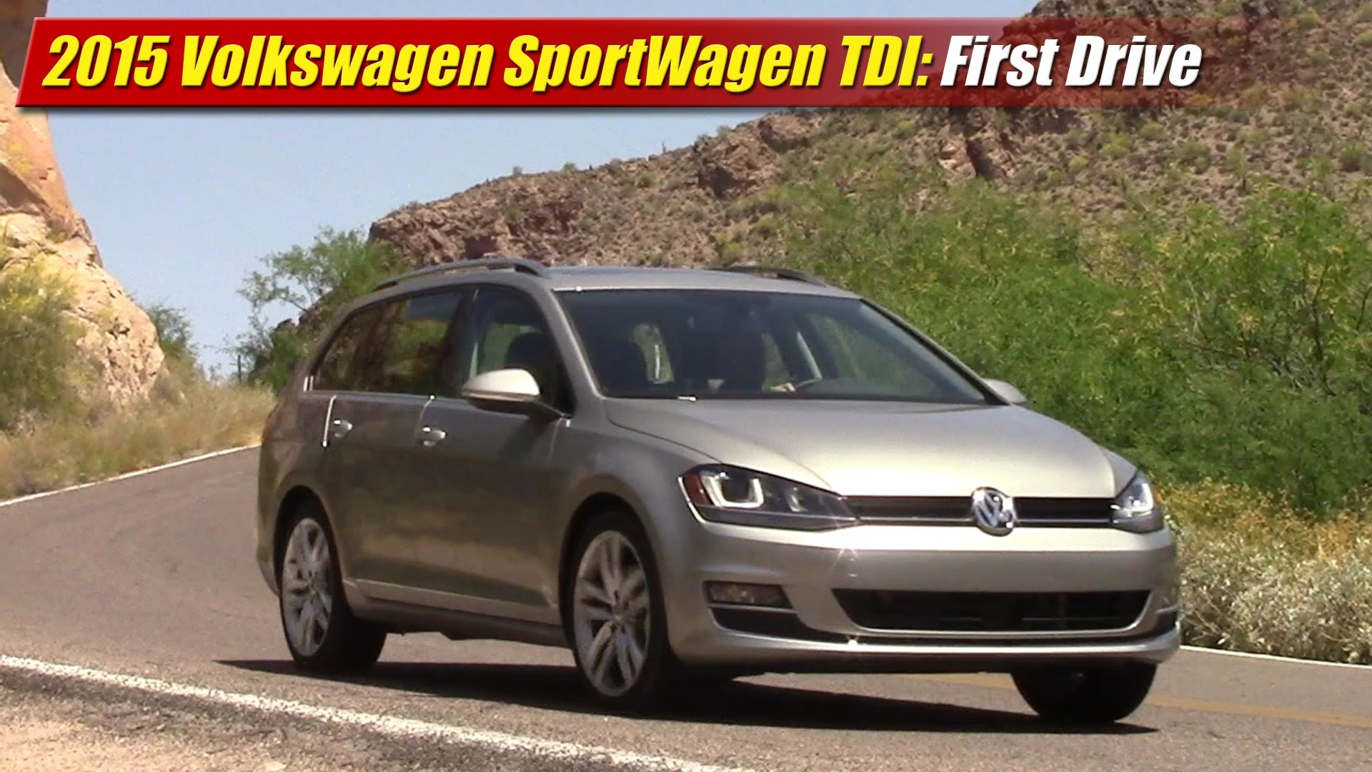 first drive 2015 volkswagen golf sportwagen tdi testdriven tv. Black Bedroom Furniture Sets. Home Design Ideas