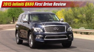 First Drive Review: 2015 Infiniti QX80
