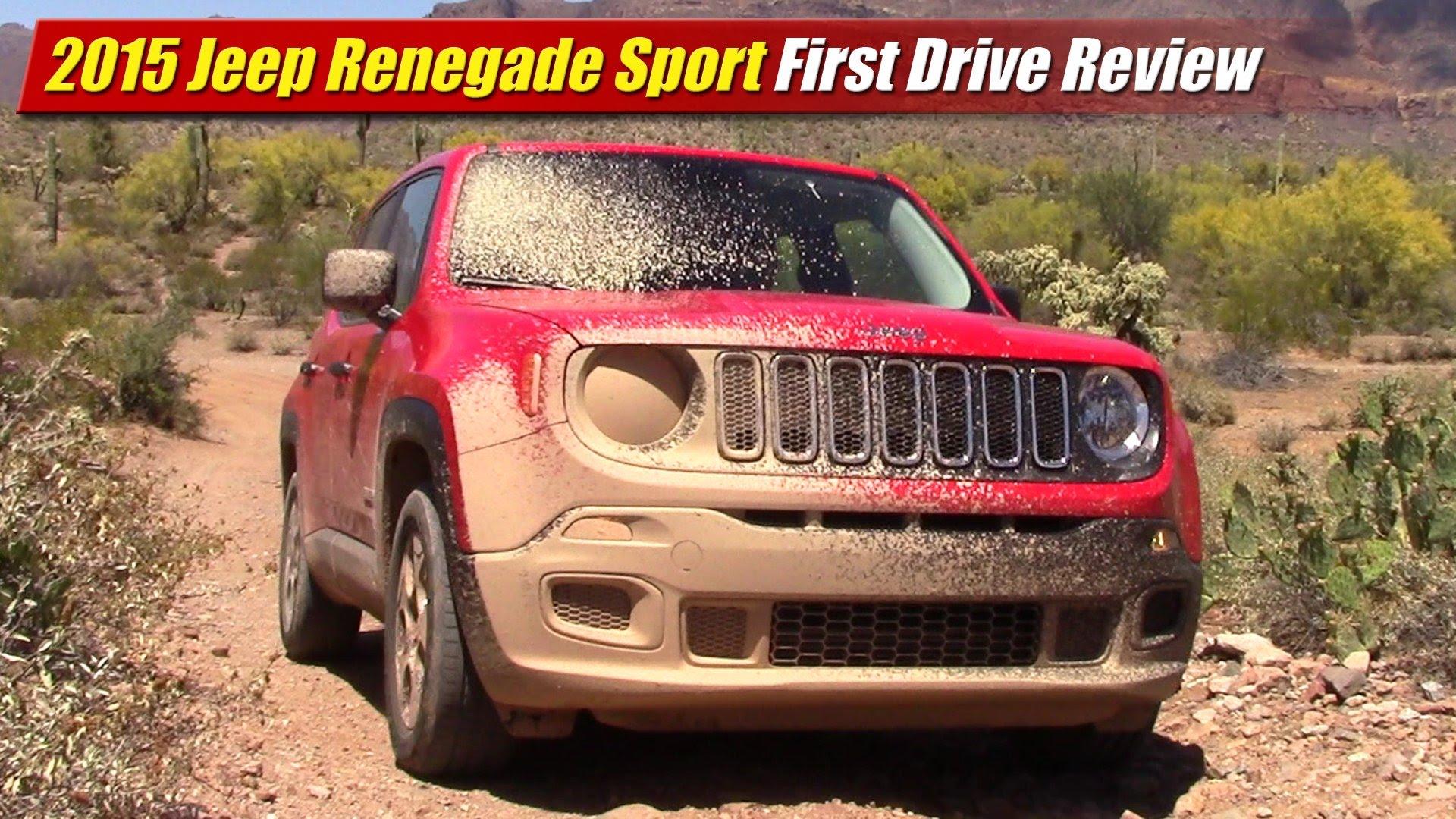 first drive review 2015 jeep renegade sport testdriven tv. Black Bedroom Furniture Sets. Home Design Ideas