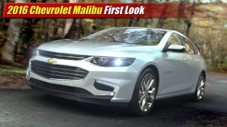First Look: 2016 Chevrolet Malibu