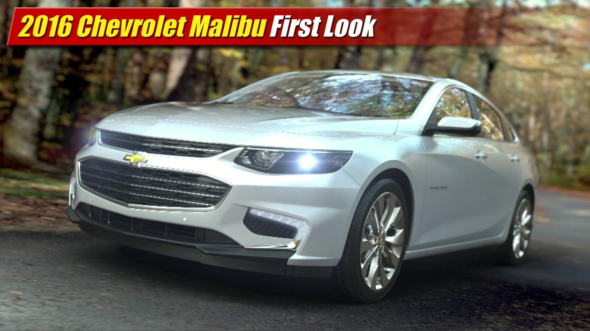 Excellent First Look 2016 Chevrolet Malibu  TestDrivenTV