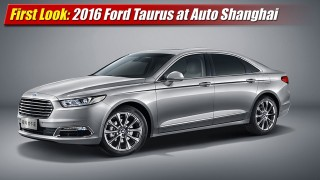 First Look: 2016 Ford Taurus debuts in China