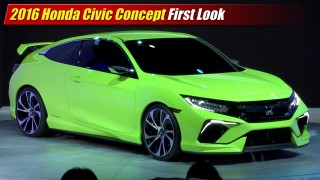 First Look: 2016 Honda Civic Concept