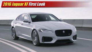 First Look: 2016 Jaguar XF