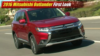 First Look: 2016 Mitsubishi Outlander