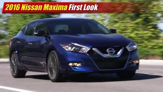 First Look: 2016 Nissan Maxima