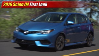 First Look: 2016 Scion iM