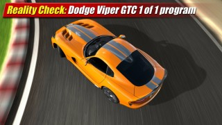 Reality Check: Dodge Viper GTC 1 of 1 program
