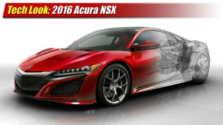 Tech Look: 2016 Acura NSX