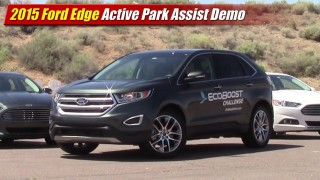 2015 Ford Edge Active Park Assist Demo