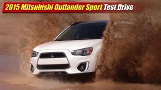 2015 Mitsubishi Outlander Sport Test Drive