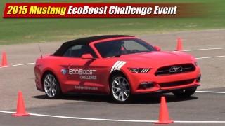 2015 Mustang EcoBoost Challenge Event
