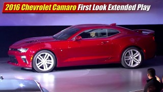 2016 Chevrolet Camaro First Look Extended Play