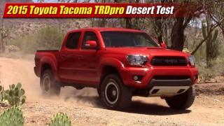 Desert Test: 2015 Toyota Tacoma TRDpro