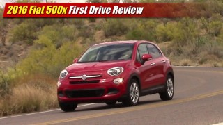 First Drive Review: 2016 Fiat 500x