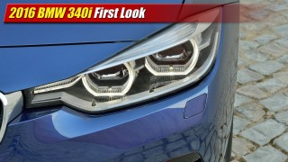 First Look: 2016 BMW 340i