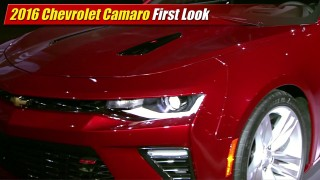 First Look: 2016 Chevrolet Camaro