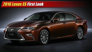 First Look: 2016 Lexus ES