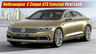 First Look: Volkswagen C Coupe GTE Concept