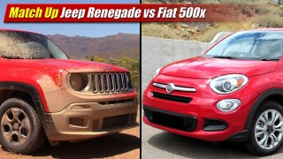 Match Up: Jeep Renegade vs Fiat 500x