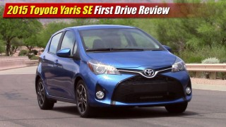 First Drive: 2015 Toyota Yaris SE