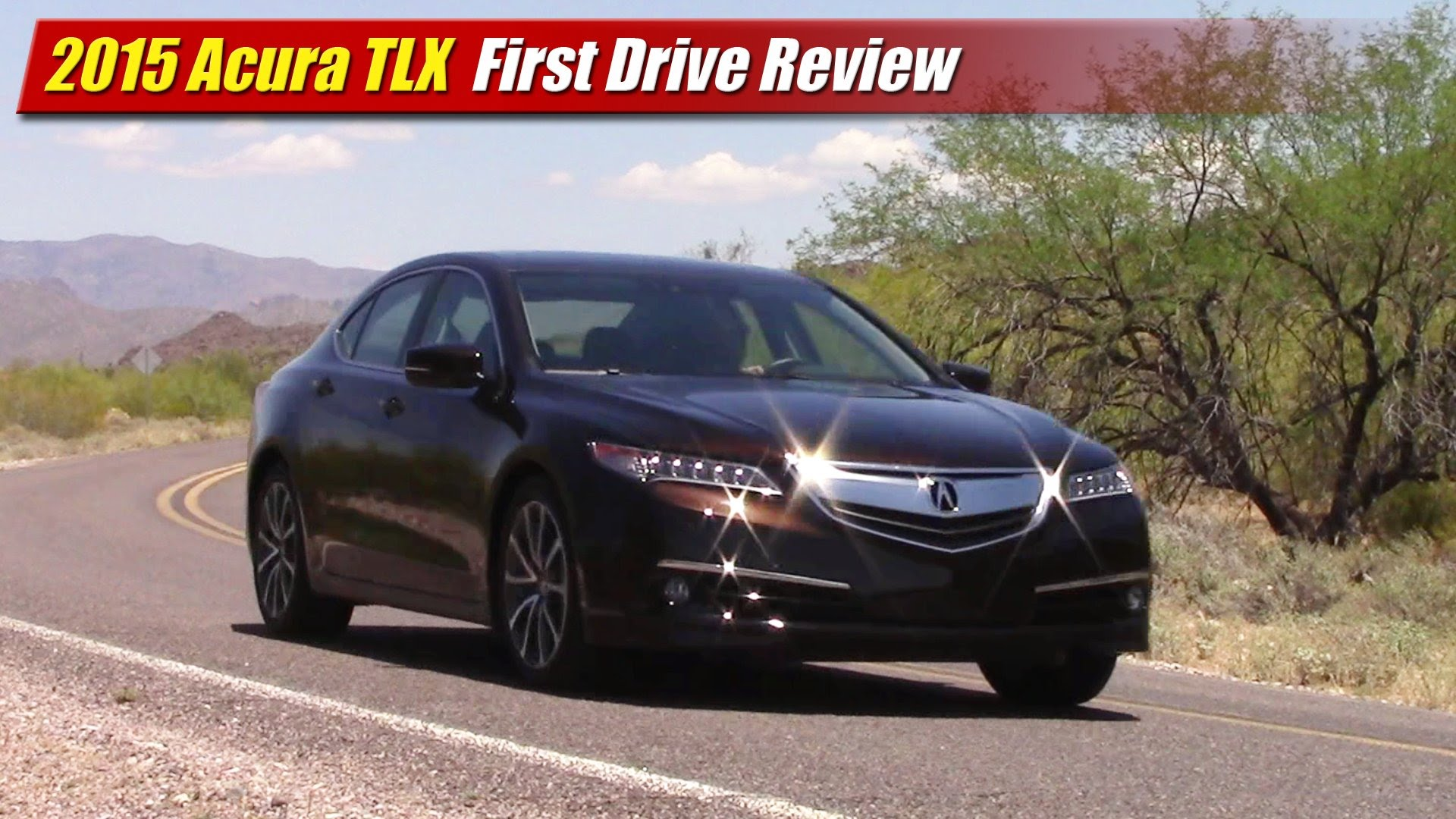First Drive Review 2015 Acura Tlx Testdriven Tv