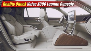 Reality Check: Volvo XC90 Lounge Console
