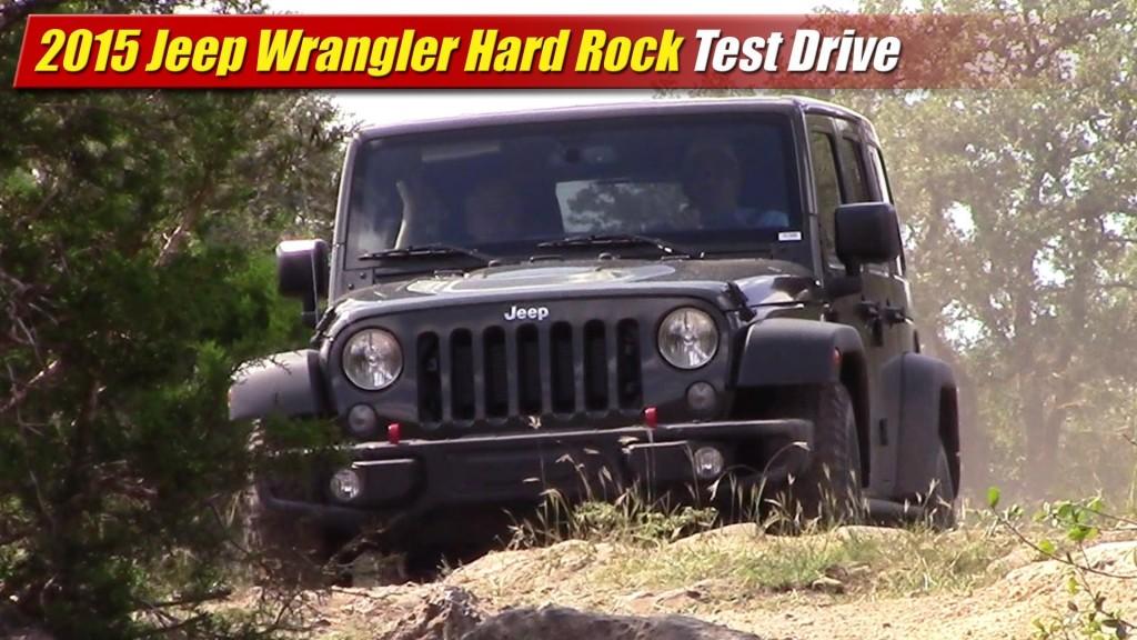 test drive 2015 jeep wrangler hard rock testdriven tv. Black Bedroom Furniture Sets. Home Design Ideas