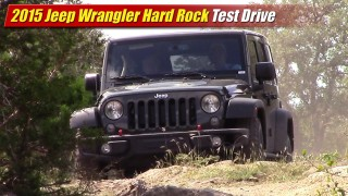 Test Drive: 2015 Jeep Wrangler Hard Rock