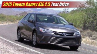 Test Drive: 2015 Toyota Camry XLE