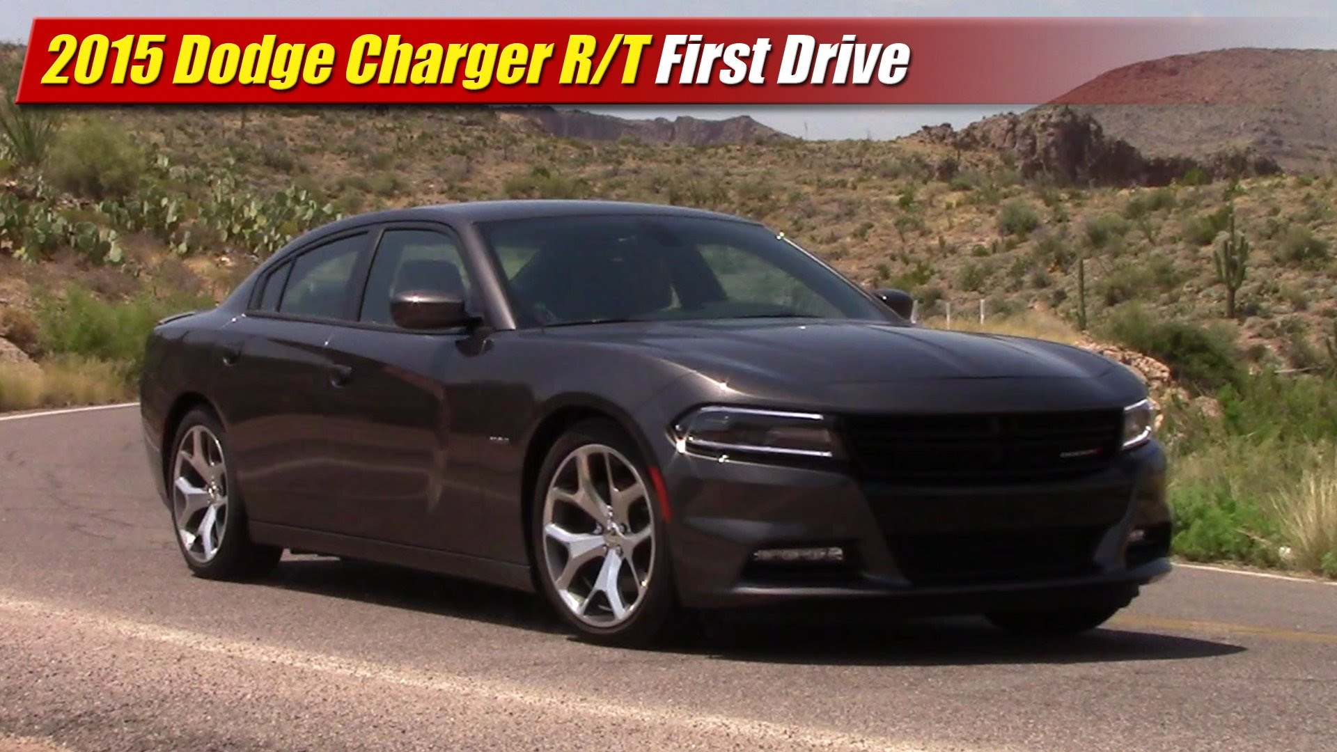 first drive 2015 dodge charger r t testdriven tv. Black Bedroom Furniture Sets. Home Design Ideas
