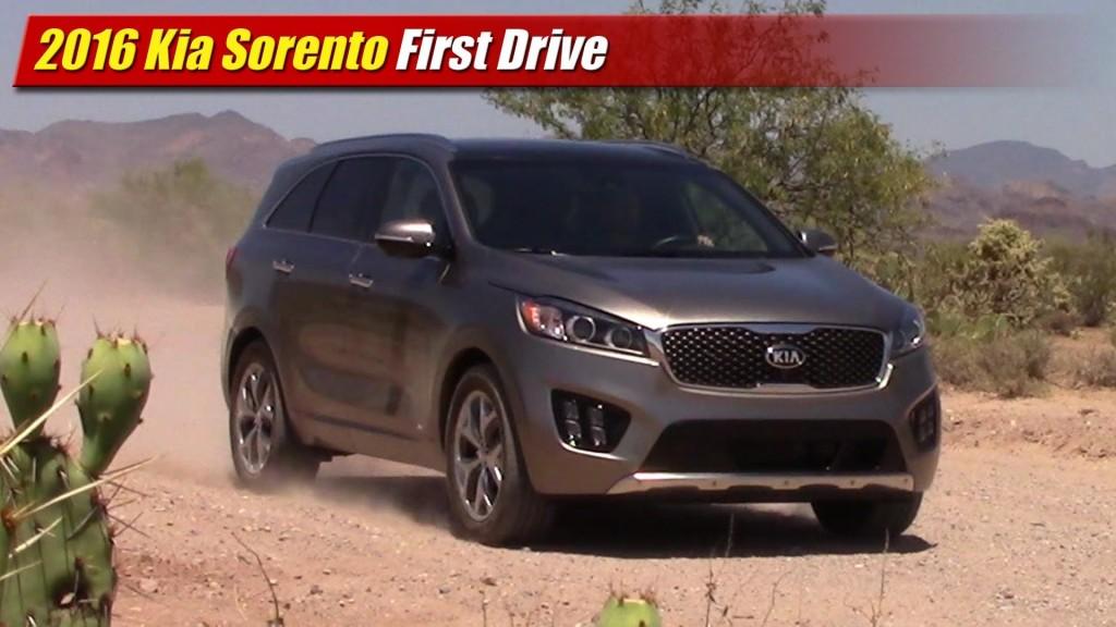 Lastest First Drive 2016 Kia Sorento AWD  TestDrivenTV