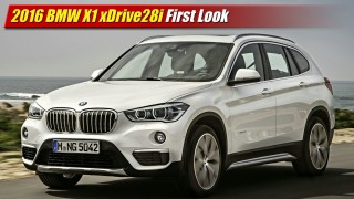 First Look: 2016 BMW X1 xDrive28i