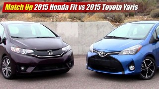 Match Up: 2015 Honda Fit vs 2015 Toyota Yaris