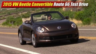 Route 66 Test Drive: 2015 Volkswagen Beetle Convertible