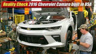 Reality Check: 2016 Chevrolet Camaro built in USA