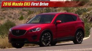 First Drive: 2016 Mazda CX5