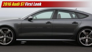 First Look: 2016 Audi S7