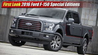 First Look: 2016 Ford F-150 Special Editions
