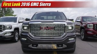 First Look: 2016 GMC Sierra