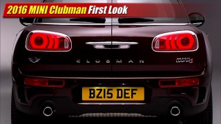 First Look: 2016 MINI Clubman