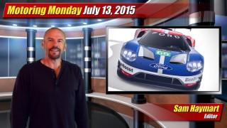 Motoring Monday: July 13, 2015