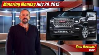 Motoring Monday: July 20, 2015
