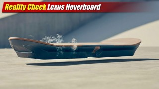 Reality Check: Lexus Hoverboard